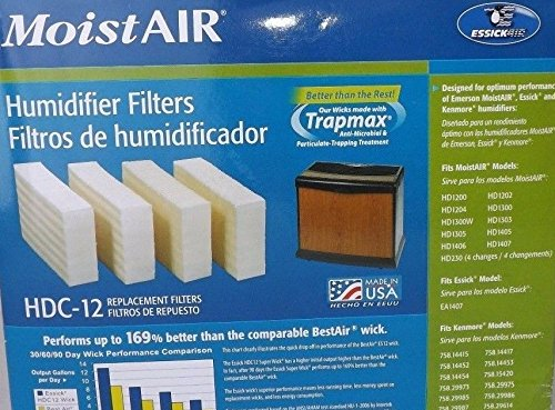 043129256064 - AIRCARE HDC12 Replacement Wicking Humidifier Filter, 4-Pack carousel main 2