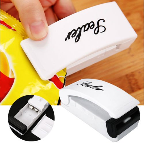JUJU MALL-New Mini Portable Sealing Heat Handheld Plastic Bag Impluse Sealer Kitchen Tool