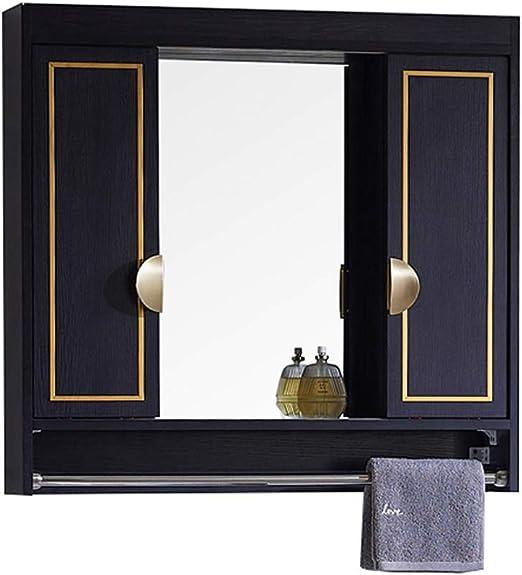 Creative LDF Gabinete De Pared De Baño Con Luces LED Gabinete De Espejo De Puerta Corredera