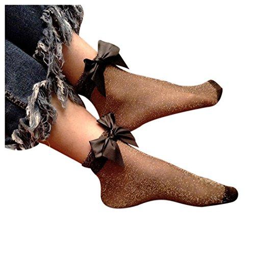 Calcetines De Malla De Mujer Inkach, Calcetines De Moda Con Volantes De Rejilla Calcetines Cortos De Malla De Pescado Calcetines De Malla De Pescado E