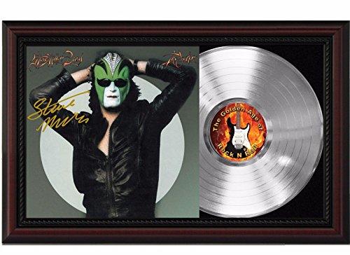 - Steve Miller Band The Joker Cherrywood Platinum Reproduction Signature Display M4