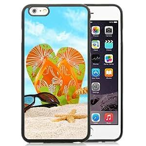 flip flop beach Hottest Customized Design iPhone 6plus 5.5 Inch TPU Cover Case