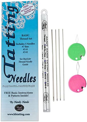 Handy Hands Tatting Needle for Thread No.3-0