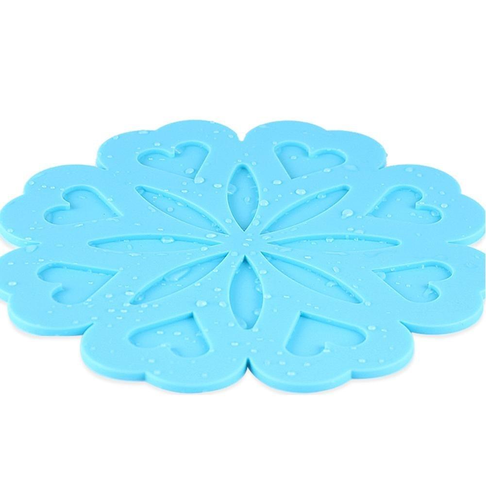 PROKTH Set de Table Tissus Napperon Dessous de Plats Imperm/éable Isolation Thermique Antid/érapant Caf/é 1PC
