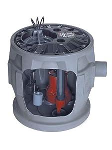 1 HP,Grinder Pump System,115VAC