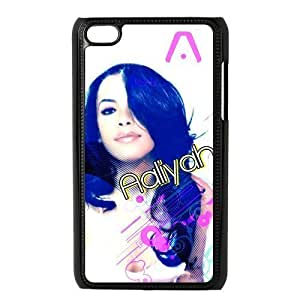 aqiloe diy Custom Your Own Beautiful and Sexy Aaliyah Ipod Touch 4 Case , Best Durable Aaliyah Ipod 4 Case