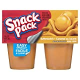Snack Pack Butterscotch Pudding - 4x99g (Pack of 12)