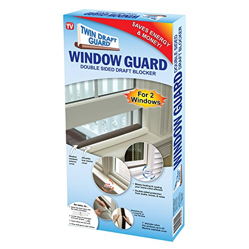Twin Draft Guard - Window Guards, Twin - Blocks Twins
