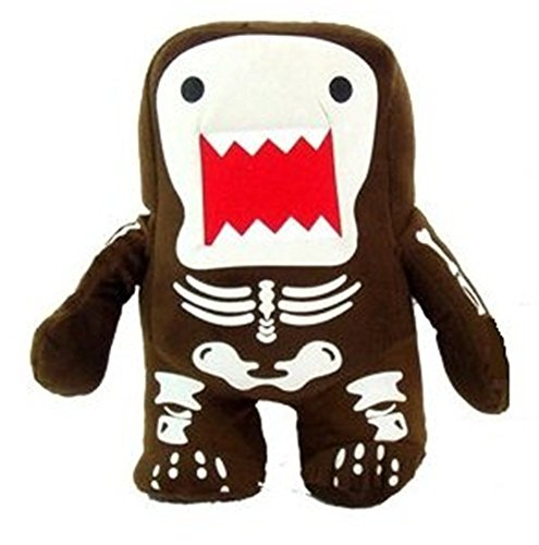 Domo Kun 7 Inch Plush Doll Skeleton Qee Halloween]()
