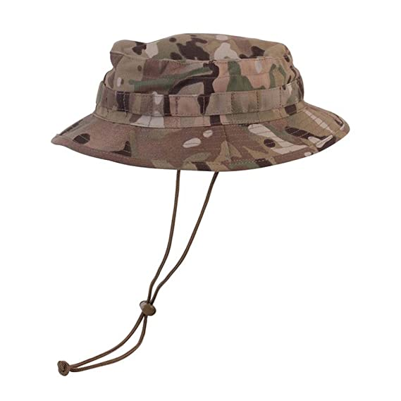 Mens Multicam Army Military Bush Boonie Vombat US British UTP Sun Hat Visor  New (Medium 1596438e68a