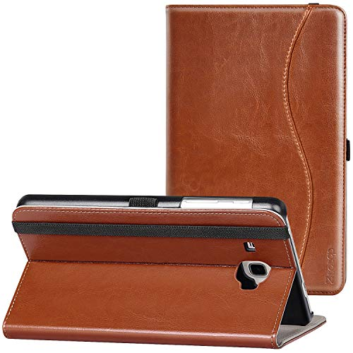 Ztotop Case for Samsung Galaxy Tab A 7.0 2016 Release, Stand Folio Leather Tablet Cover for SM-T280/SM-T285, Pencil Holder and Multiple Viewing Angles, Brown