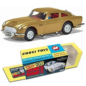 Corgi James Bond Aston Martin DB5 Goldfinger 50th Anniversary GOLD ...