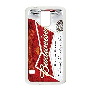 Cool Beer Series Budweiser Cover Case for Samsung Galaxy S5(Laser Technology)