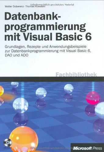 Datenbankprogrammierung mit Visual Basic 6.0