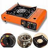 Portable Propane Butane Stove Outdoor Picnic Camping Gas Burner Cooktop Range