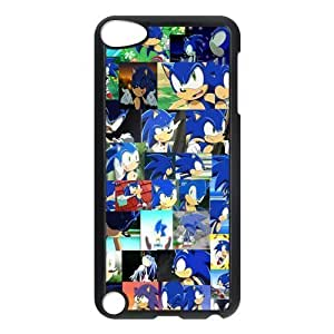 SpecialCasedesign Personalized Sonic the Hedgehog Ipod Touch 5th Case Best Durable Back Cover Kimberly Kurzendoerfer