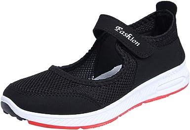 Zapatillas para Mujer Zapatillas sin Cordones Sandalias Ligeras ...