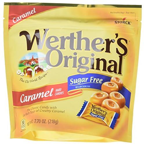 Werther's Original Hard Candies, Sugar Free Caramel, 7.7 Ounce