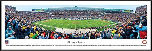 Bears Head Coach (Chicago Bears - 50 Yard Line at Soldier Field - Panoramic Print)