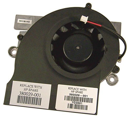 HP NX9600 Middle Mounted Cooling Fan - Hp Computer With Mounted Cpu
