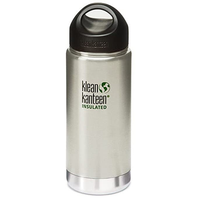 Amazon.com : 16oz Kanteen Wide Insulated Bottle   O/S N/A   BRUSHED  STAINLESS : Sports U0026 Outdoors