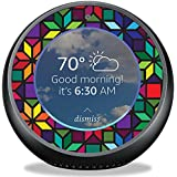 MightySkins Skin for Amazon Echo Spot - Stained Glass Window Protective, Durable, and Unique Vinyl Decal wrap cover | Easy To Apply, Remove, and Change Styles | Made in the USA