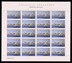 Edward Hopper The Long Leg Sheet of 20 Mint NH US Postage Forever Stamps 4558