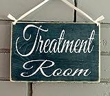 Prim and Proper Decor Treatment Room 8x6 (Choose Color) Custom Rustic Wood Spa Door Sign