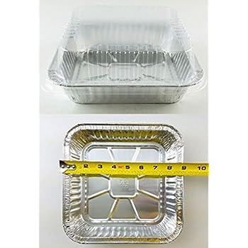 Amazon Com 9 Quot X9 Quot Square Cake Aluminum Foil Pan W Clear