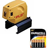 Pacific Laser Systems PLS 5 Red System with 10 Pack Duracell AA Batteries