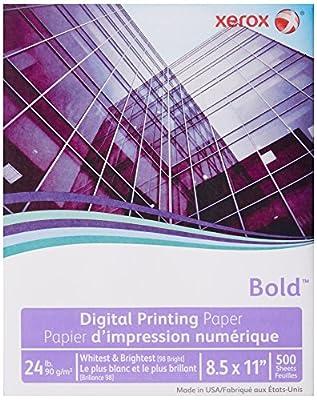 "Xerox Digital Color Xpressions Plus Copy Paper 24# 98 Bright, 8.5"" x 11"", 500 Sheets/Ream (3R11540)"