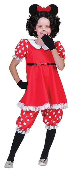 Das Kostümland Disfraz Infantil de Minnie Mouse.: Amazon.es ...