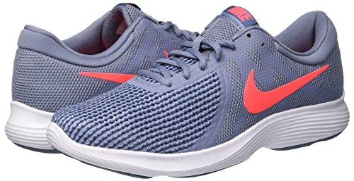 464 Multicolor 4 Ashen Blue Slate de para Diffused Crimson Revolution Hombre Deporte Zapatillas Nike EU Flash 8Z5Unzx1