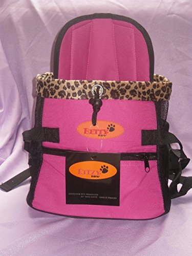 Dog Carrier Front Pack for Dogs Comfortable Front Carrier, Medium, Pink For Sale