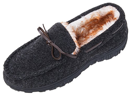 Indoor Driving Shoes On Outdoor Moccasins Men's Comfortable Slip Casual MIXIN Black Loafers Sole Rubber Slippers wFtg0Sqw