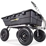 Gorilla Carts GOR10-16 Super Heavy Duty Poly Dump