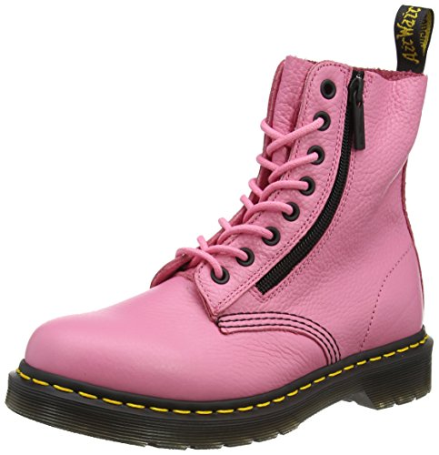 Dr. Martens 22008608, Stivali Corti Donna Rosa (Soft Pink Aunt Sally)