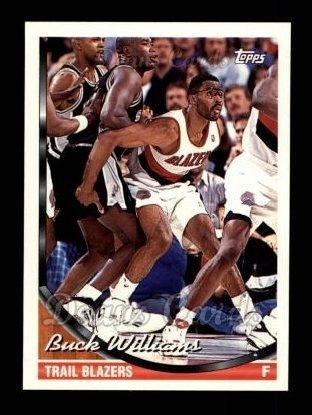 f6933a67e 1993 Topps   126 Buck Williams Portland Trail Blazers (Basketball Card) Dean s  Cards 8