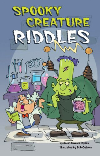 Spooky Creature Riddles - Myer Free Delivery