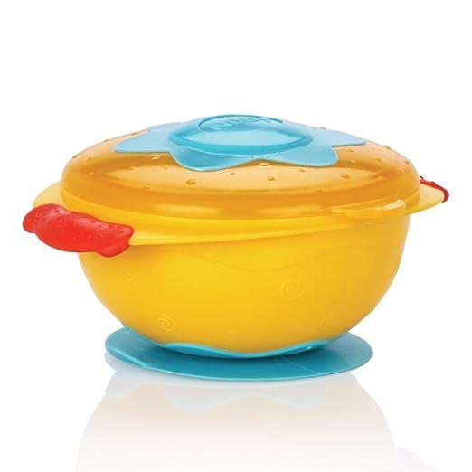 3er Set Breischale Teller Deckel Snackbox Baby Mehrfarbig Schale Kindergeschirr
