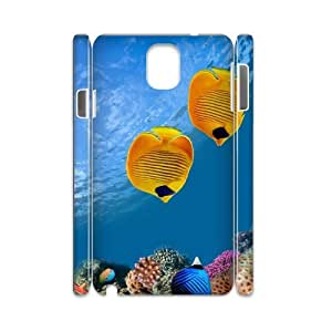 Samsung galaxy note 3 N9000 Flexible fish 3D Art Print Design Phone Back Case DIY Hard Shell Protection FG020732