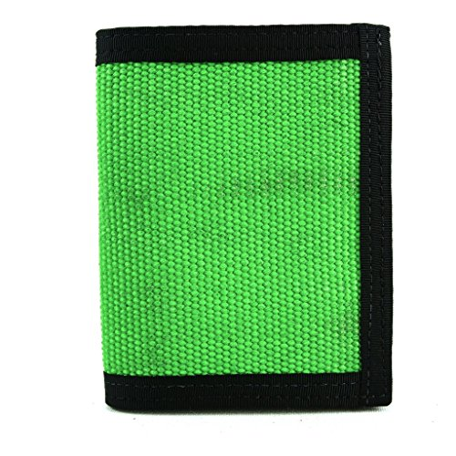 """Recycled Firefighter Wallet – """"Captain Bifold"""" – Fire Hos..."""