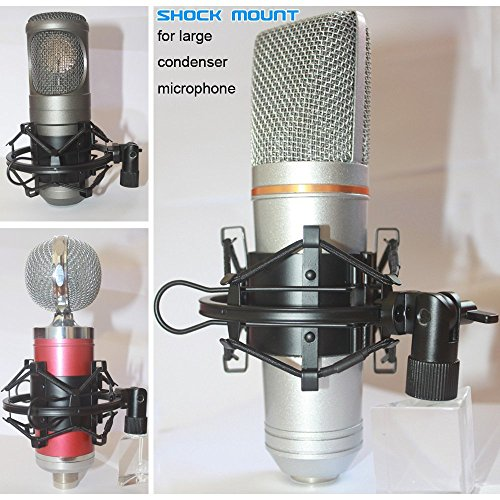 Universal Microphone Shock Mount Clip Holder - 7