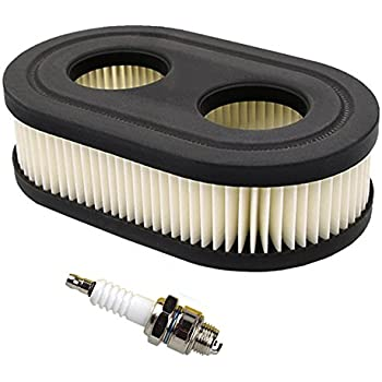 Amazon Com Hifrom 1 Set Oval Air Filter With Spark Plug