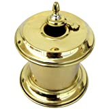 Solid Brass Captain Inkwell