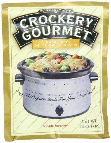 Crockery Gourmet Seasoning Mix - Crockery  Gourmet Seasoning Mix For Chicken, 2.5-Ounce (Pack of 12)