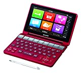 SHARP color electronic dictionary Brain life comprehensive model Red system PW-SA1-R