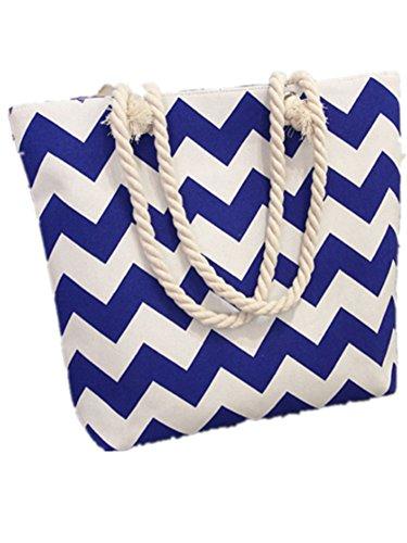 Bebelle Bolsos totes mujer bolso de la lona de las mujeres Travel Top Handle Bag Bohemia bolso de hombro de gran tamaño Holiday Beach Bag Shopping Bag Varios Colores-25