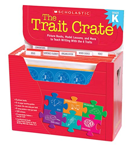 Scholastic Classroom Resources The Trait Crate, Kindergarten (SC507470)