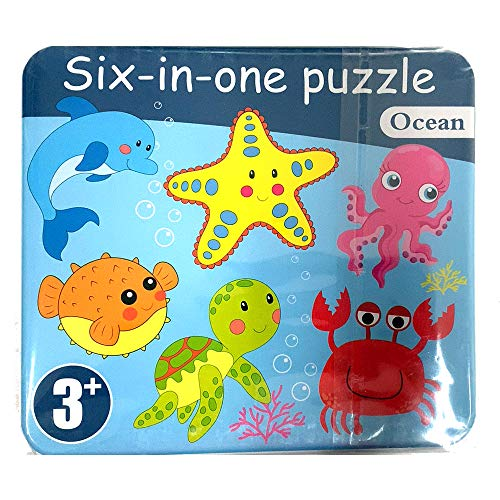 mumoni Wooden Jigsaw Puzzles for Early education Learning Baby Kids Educational Toys Gifts for 1 2 3 Year Old Boys Girls…